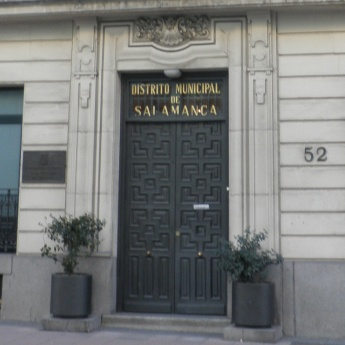 Junta municipal del distrito de salamanca ayuntamiento for Oficinas en moncloa