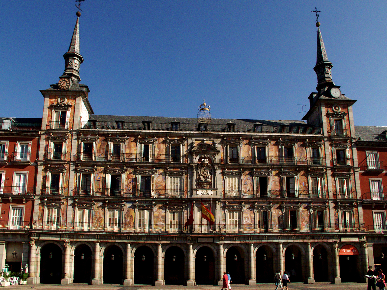 Casa de la panader a galer a de im genes ayuntamiento for La casa de granada en madrid