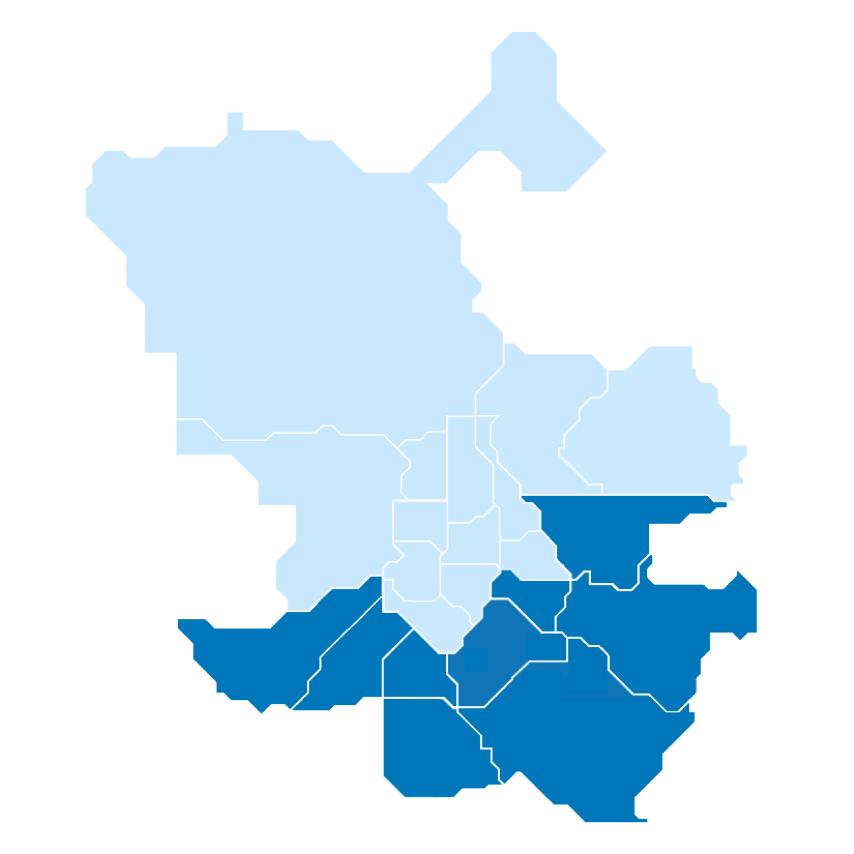 9 Distritos del Sur y del Este - Ayuntamiento de Madrid