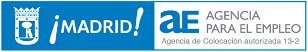 Logo de la Agencia para el Empleo del Ayuntamiento de Madrid