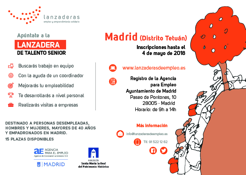 Agencia para el empleo de madrid abierta la inscripci n for Agencia de empleo madrid