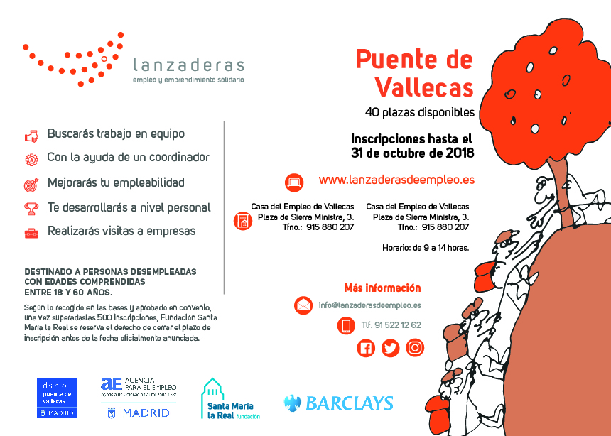 Agencia para el empleo de madrid puente de vallecas for Agencia de empleo madrid