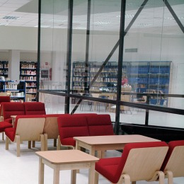 Biblioteca p blica municipal la chata carabanchel for Piscina municipal vicalvaro