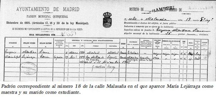 Padrón de 1905