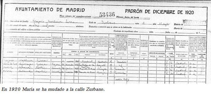 Padrón de 1920