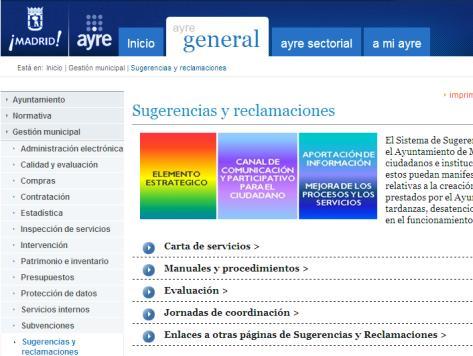 Bo n mero 0 febrero 2014 sugerencias y reclamaciones en for Ayuntamiento de madrid oficina de atencion integral al contribuyente