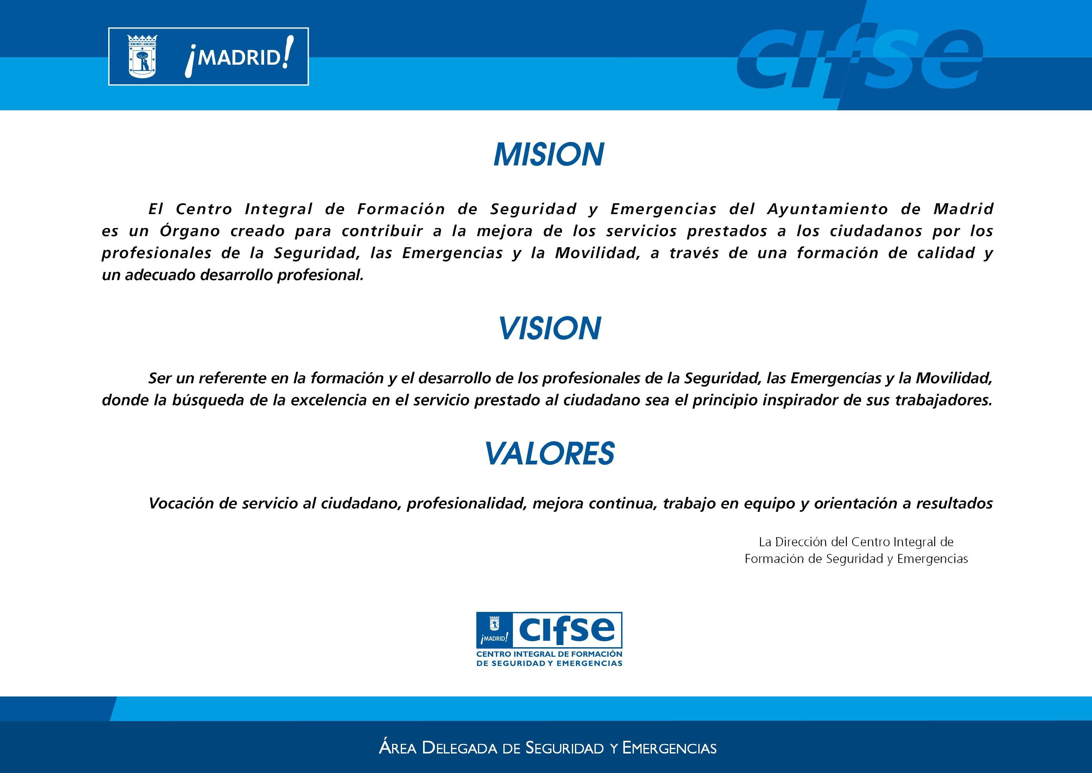 Misi N Visi N Y Valores De Una Empresa De Servicios Una ...