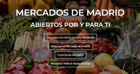 Mercados de Madrid. Abiertos por y para tí.