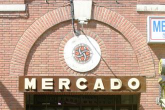 Mercado de Los Mostenses - fachada