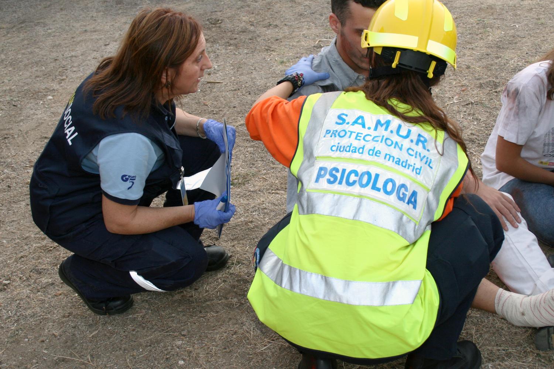 Samur Proteccion Civil Intervencion Psicologica Ayuntamiento De Madrid