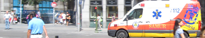 ambulancia SAMUR Madrid