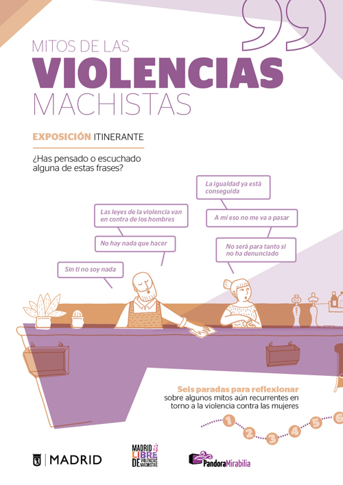 Contra Las Violencias Machistas Exposición Mitos De Las