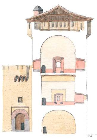 Castillo de la alameda la torre del homenaje for Residencia torres de la alameda