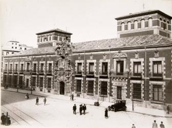 Antiguo Hospicio de San Fernando, h. 1930