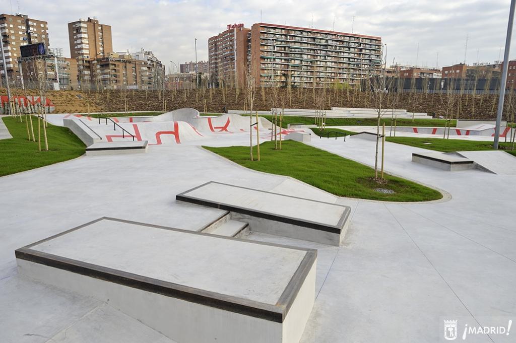 b84ce325b337d Madrid Río Especial Informativo - Equipamientos deportivos ...
