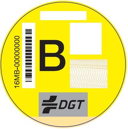 Distintivo B