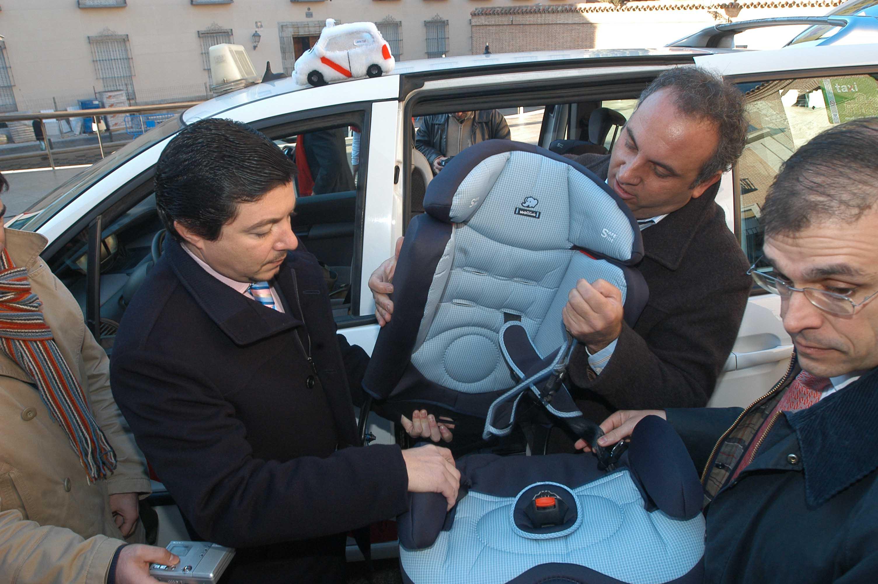 eurotaxi madrid sillas para niños