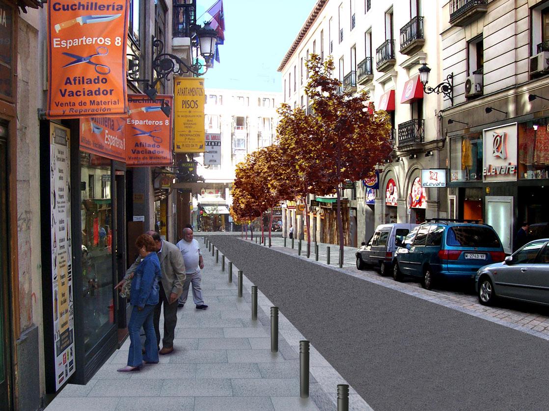 Las calles de esparteros e imperial se renuevan - H m calle orense madrid ...