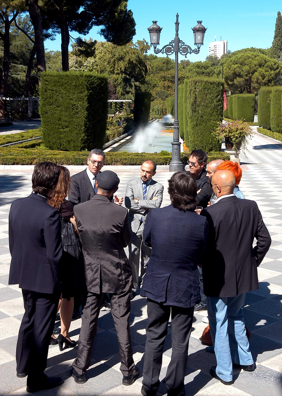 El alcalde con los j venes dise adores madrile os - Disenadores en madrid ...