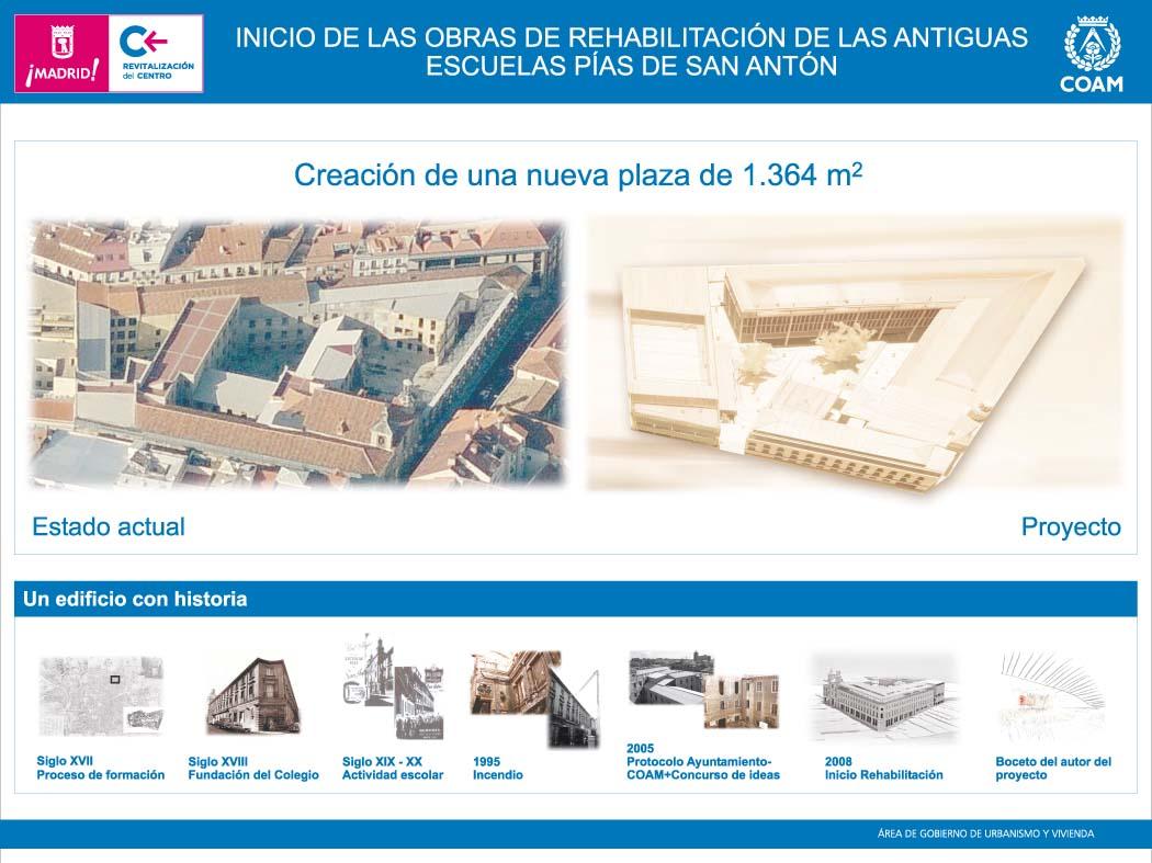 La ciudad y el colegio de arquitectos devuelven las for Piscina escuelas pias