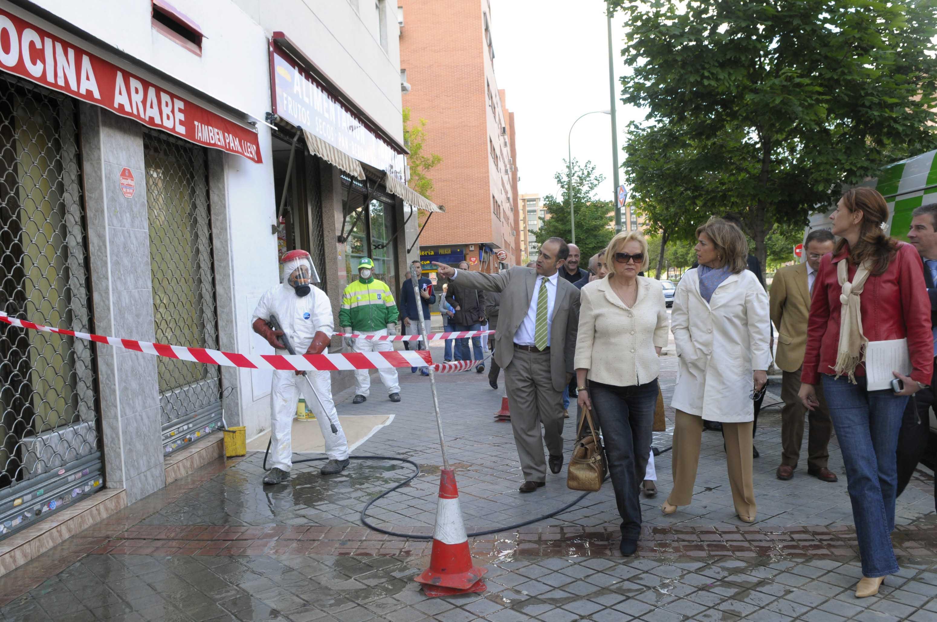 El plan de limpieza integral llega a vic lvaro ayuntamiento de madrid - Recogida de muebles ayuntamiento de madrid ...