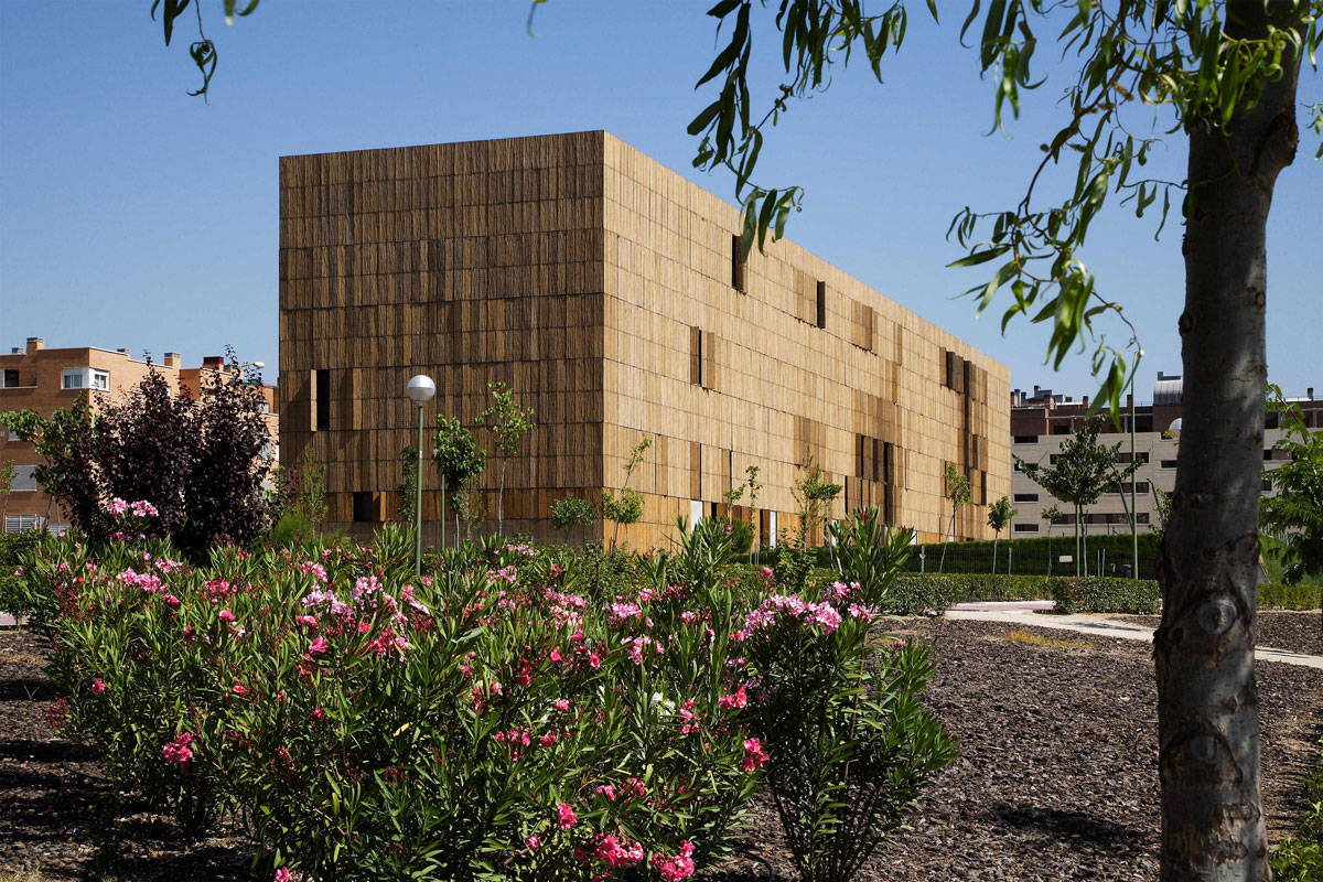 El edificio bamb premio riba de arquitectura - Arquitectura de interiores madrid ...