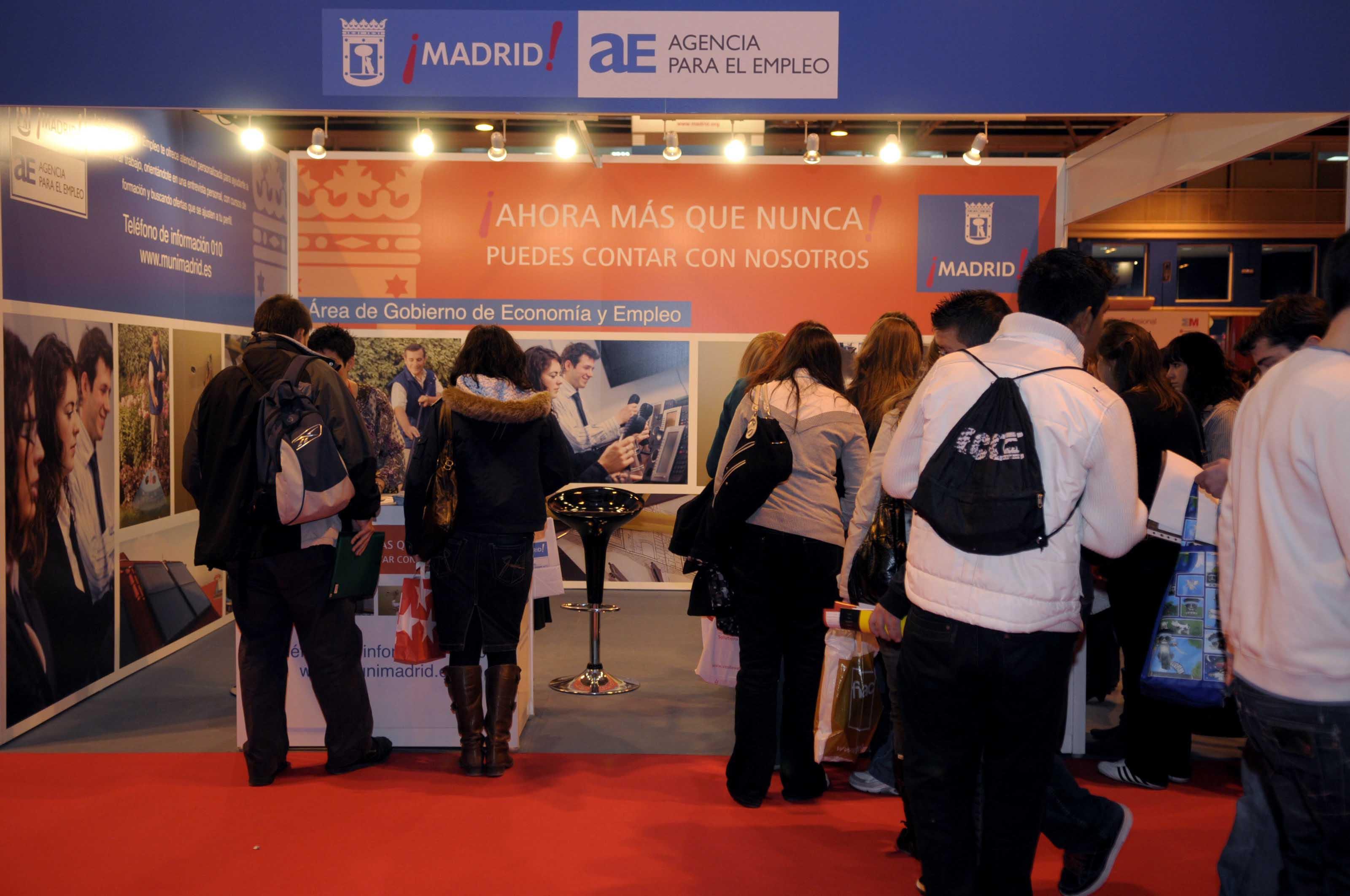 La agencia para el empleo ampl a su oferta de cursos de for Agencia de empleo madrid