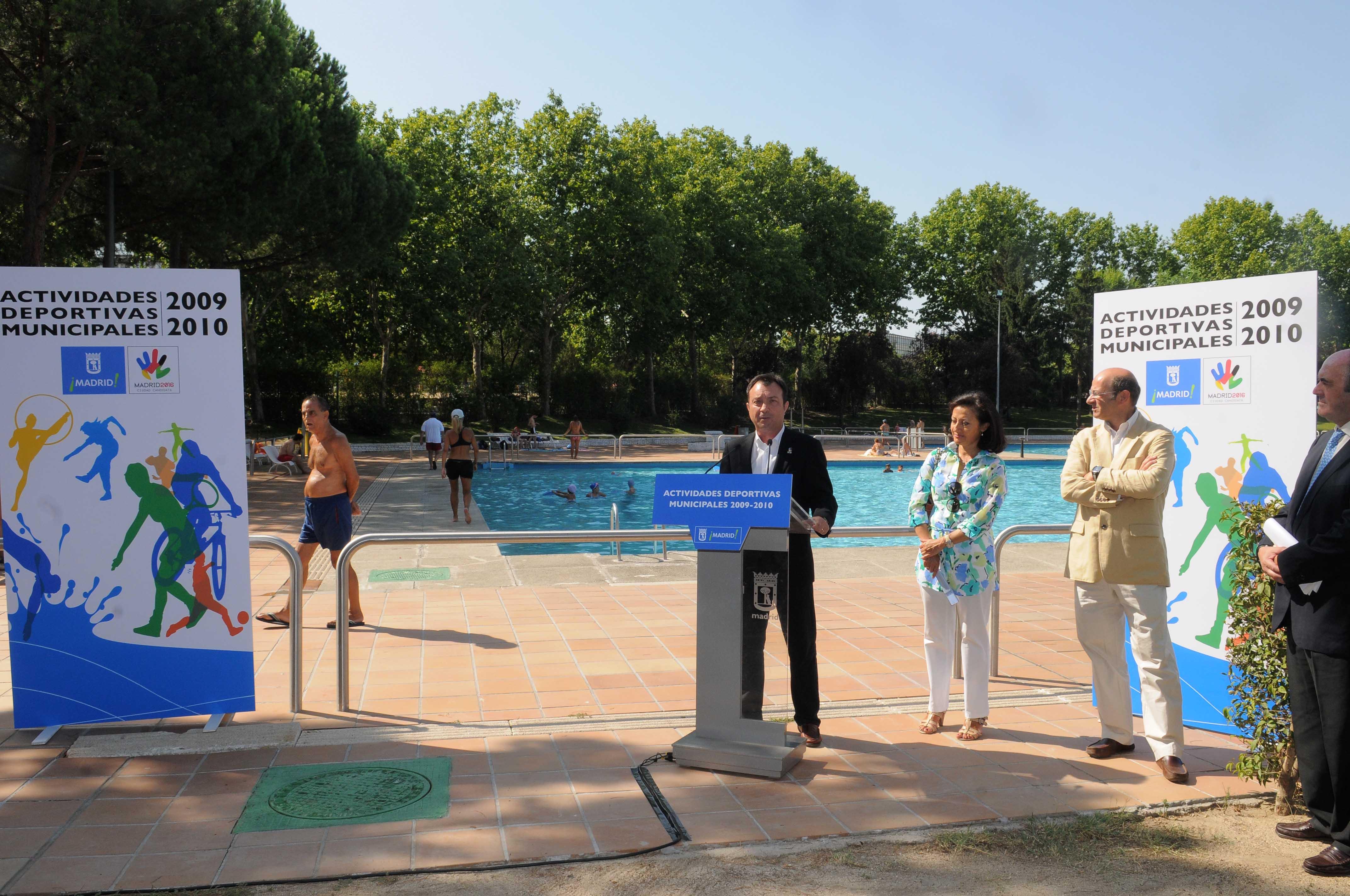 Las piscinas municipales de verano cerrar n el 6 de for Piscinas cubiertas municipales madrid