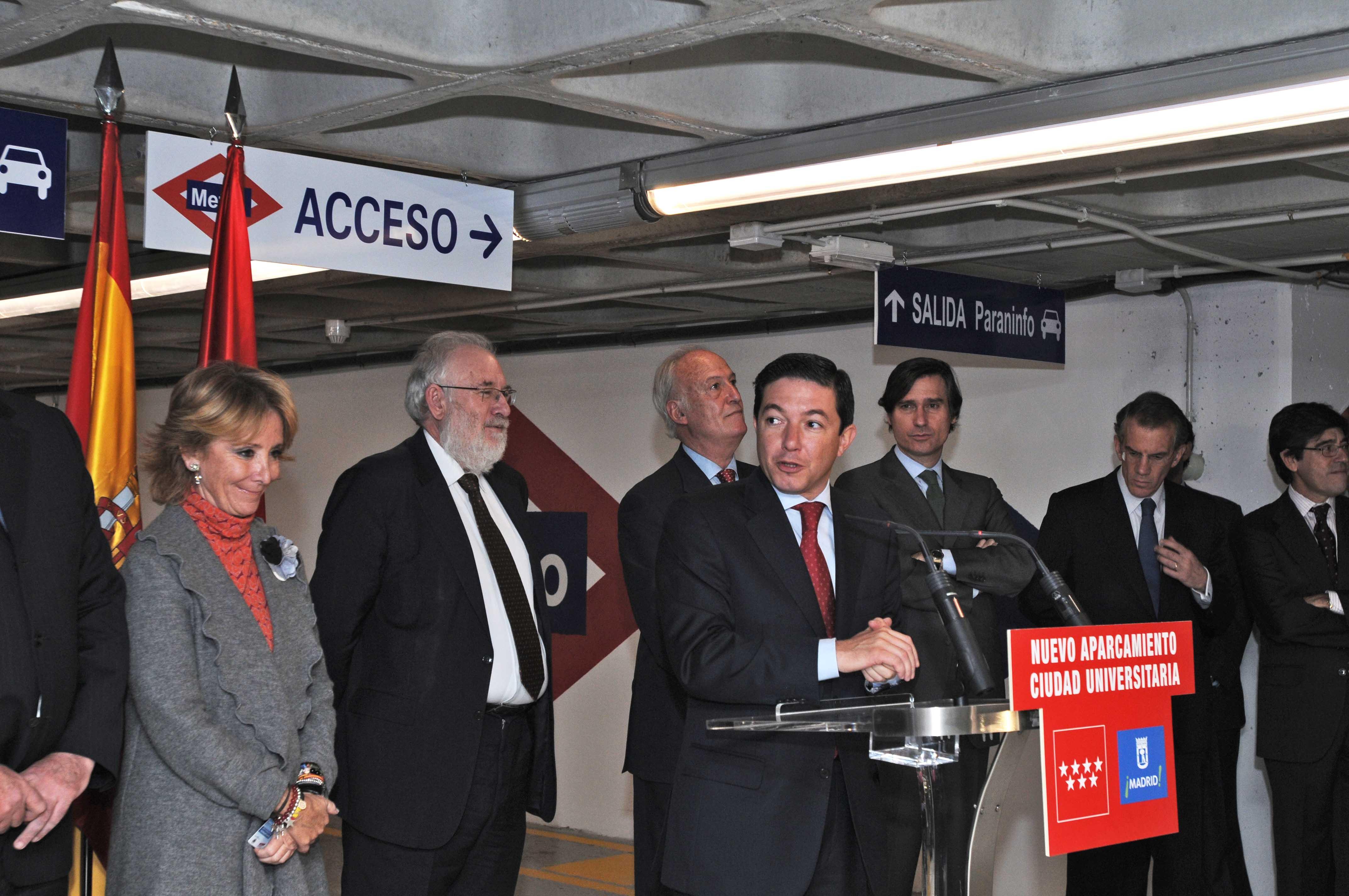 M s aparcamientos en ciudad universitaria ayuntamiento for Oficinas del consorcio de transportes de madrid puesto 2