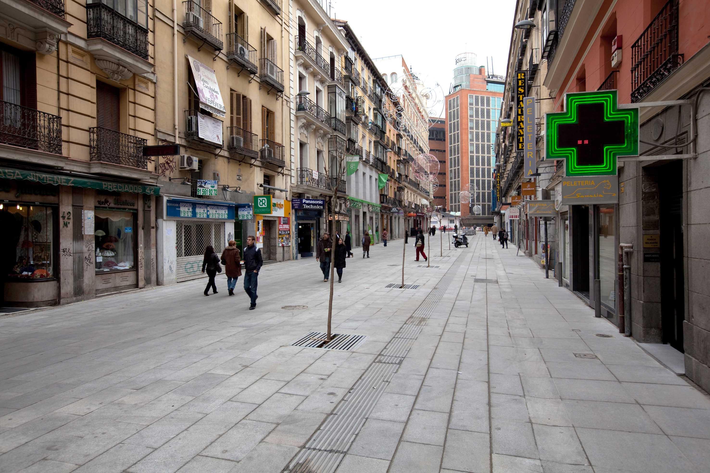 La dimensi n m s humana de callao ayuntamiento de madrid - H m calle orense madrid ...