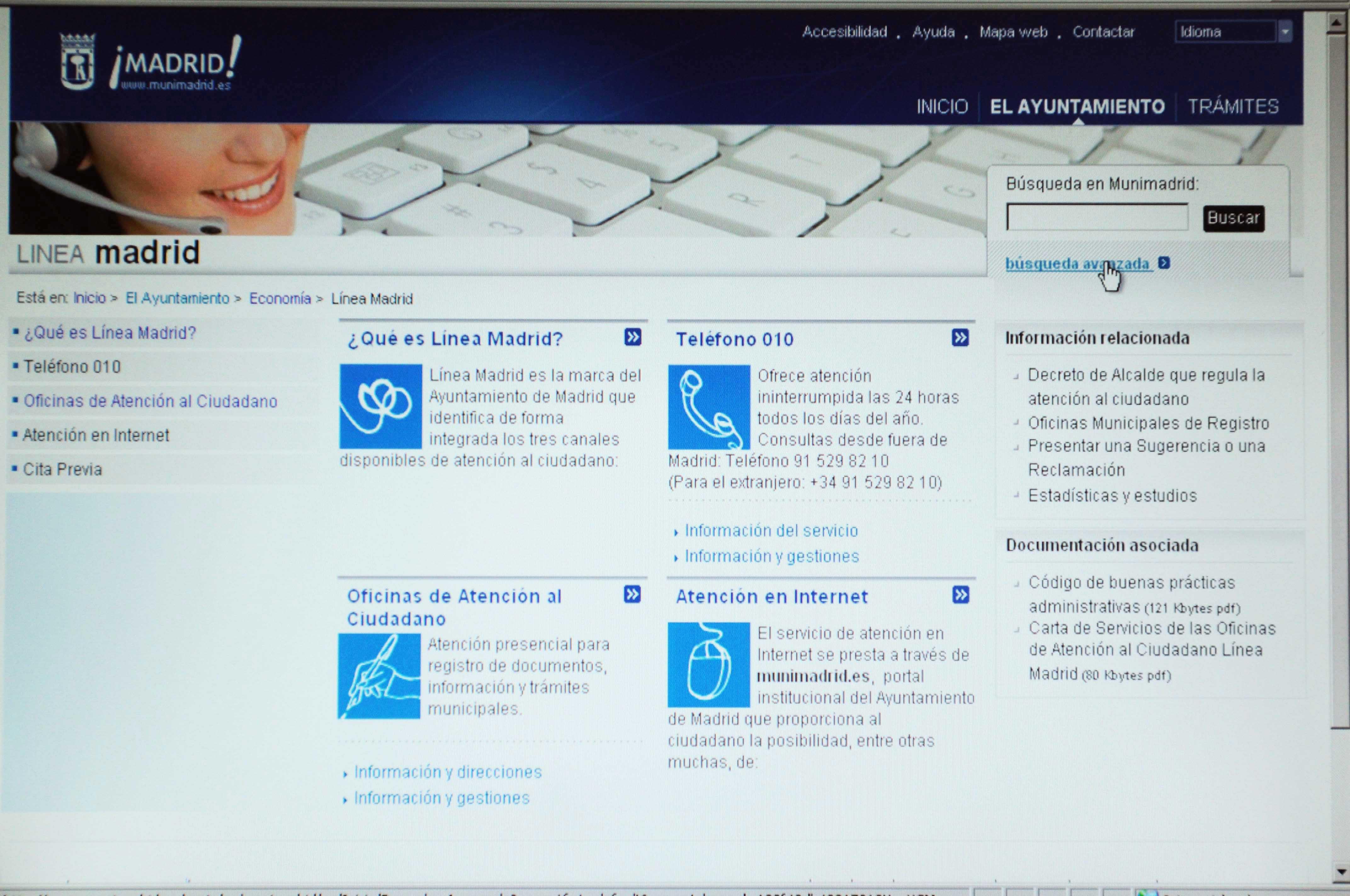 Se universaliza ayuntamiento de madrid - Oficinas de atencion a la ciudadania linea madrid ...