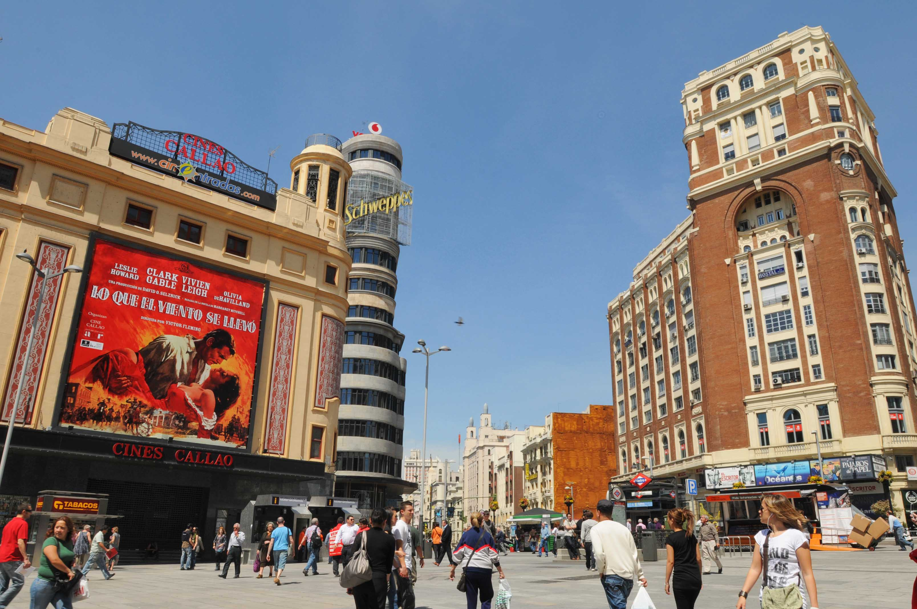 Lo que el viento se llev en la gran v a ayuntamiento de - Hotel el quijote madrid ...