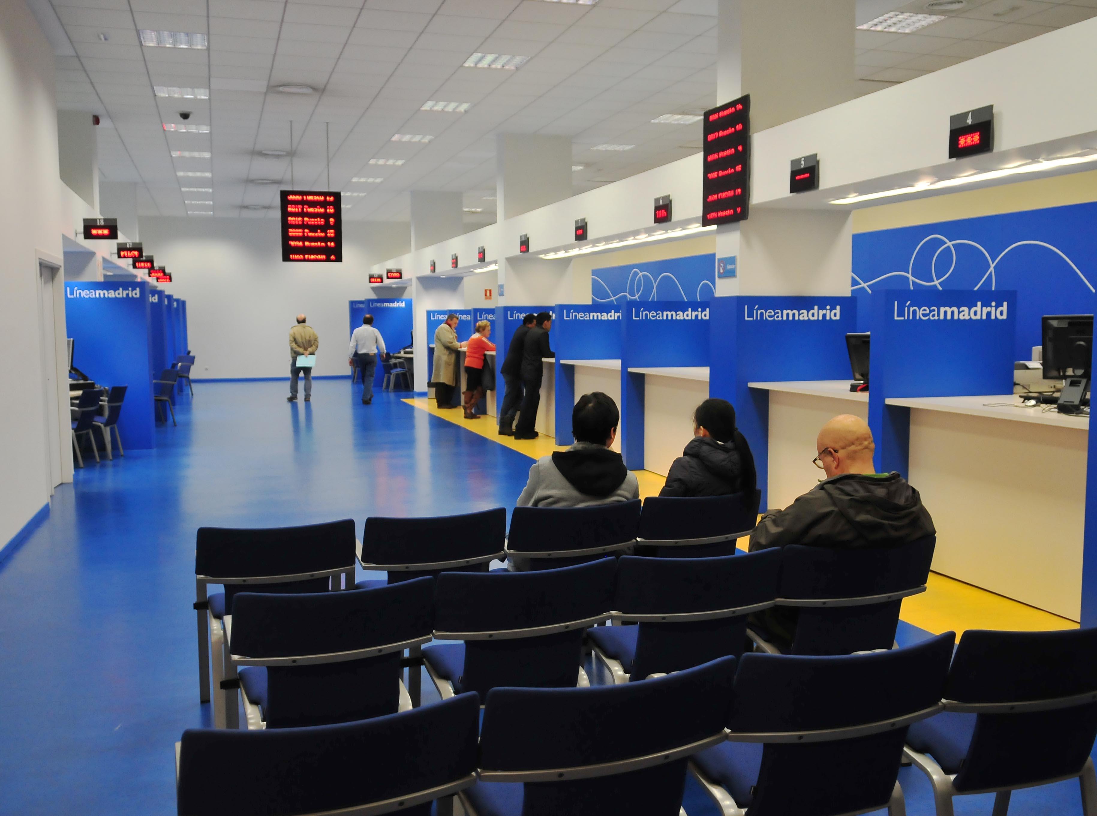 L neamadrid m s atenci n y de mejor calidad en 2011 ayuntamiento de madrid - Oficinas de atencion a la ciudadania linea madrid ...