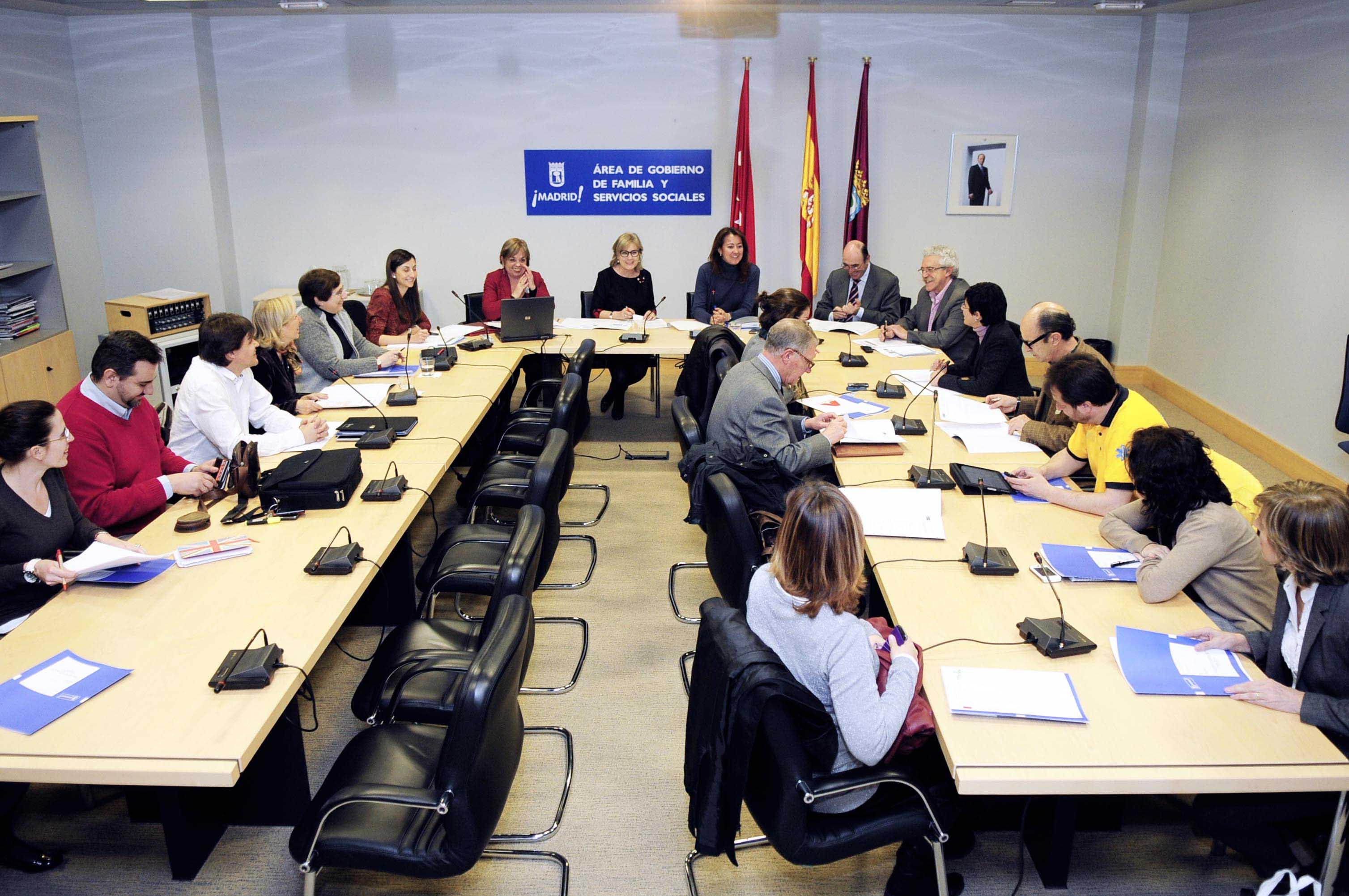 Dolores navarro preside el foro del voluntariado ayuntamiento de madrid - Voluntariado madrid comedores sociales ...