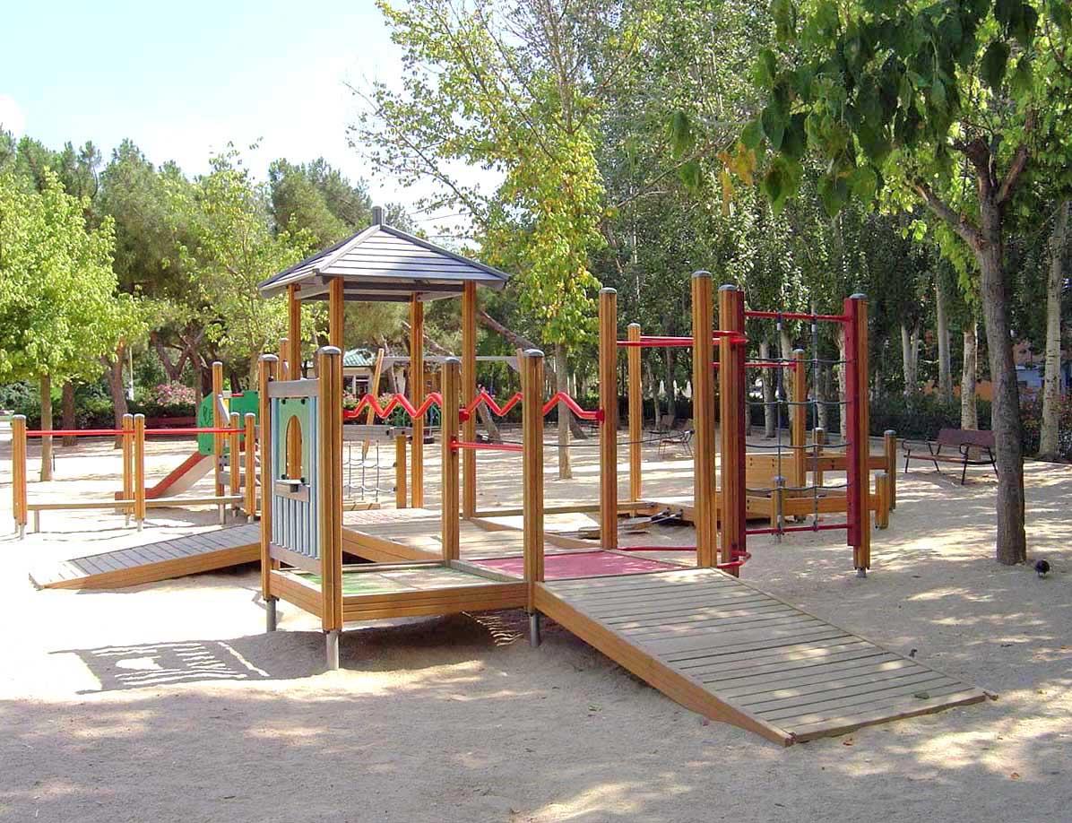 Juegos infantiles y mobiliario urbano a punto - Mobiliario urbano madrid ...