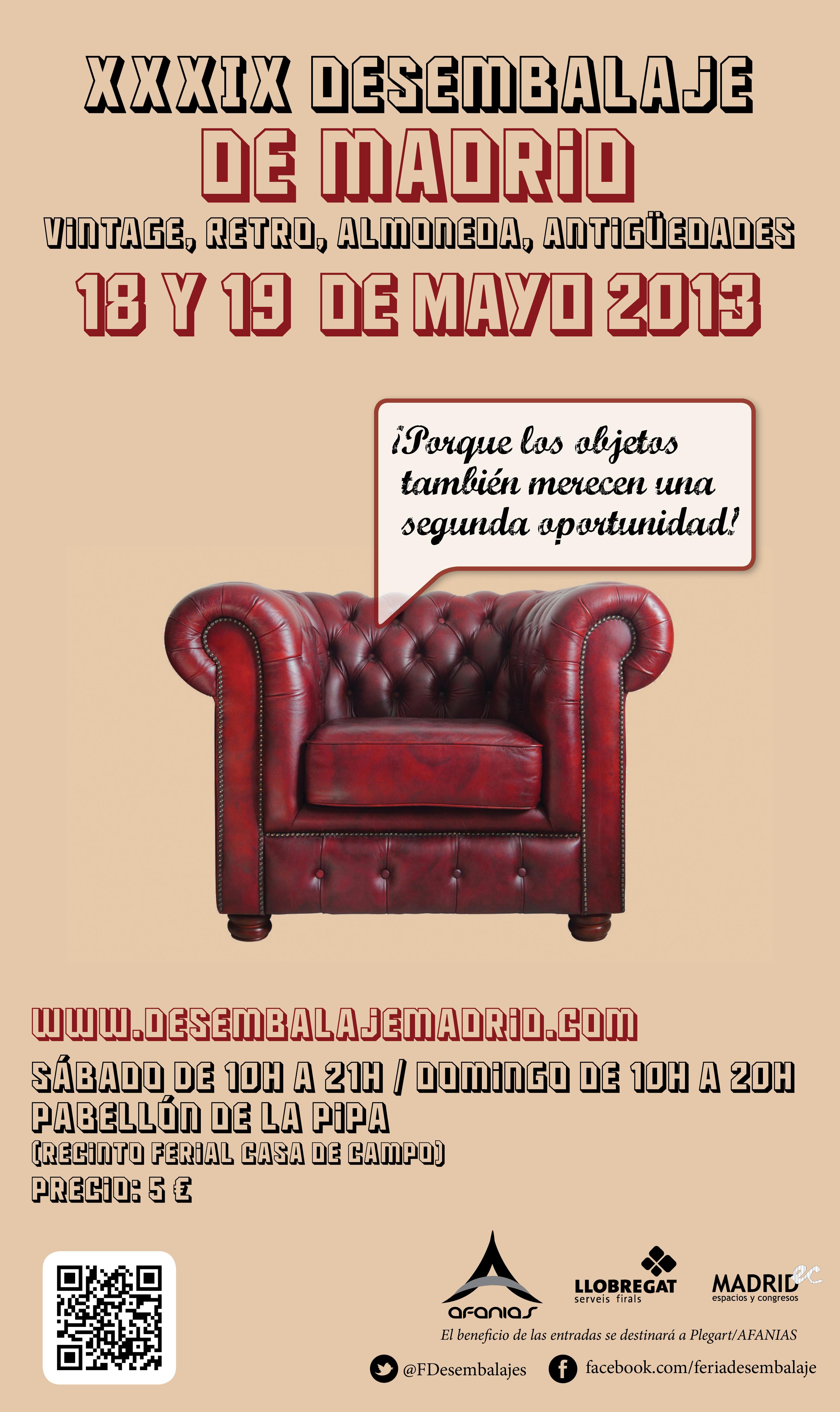 El pabell n de la pipa acoge objetos vintage almoneda y antig edades ayuntamiento de - Recinto ferial casa de campo madrid ...