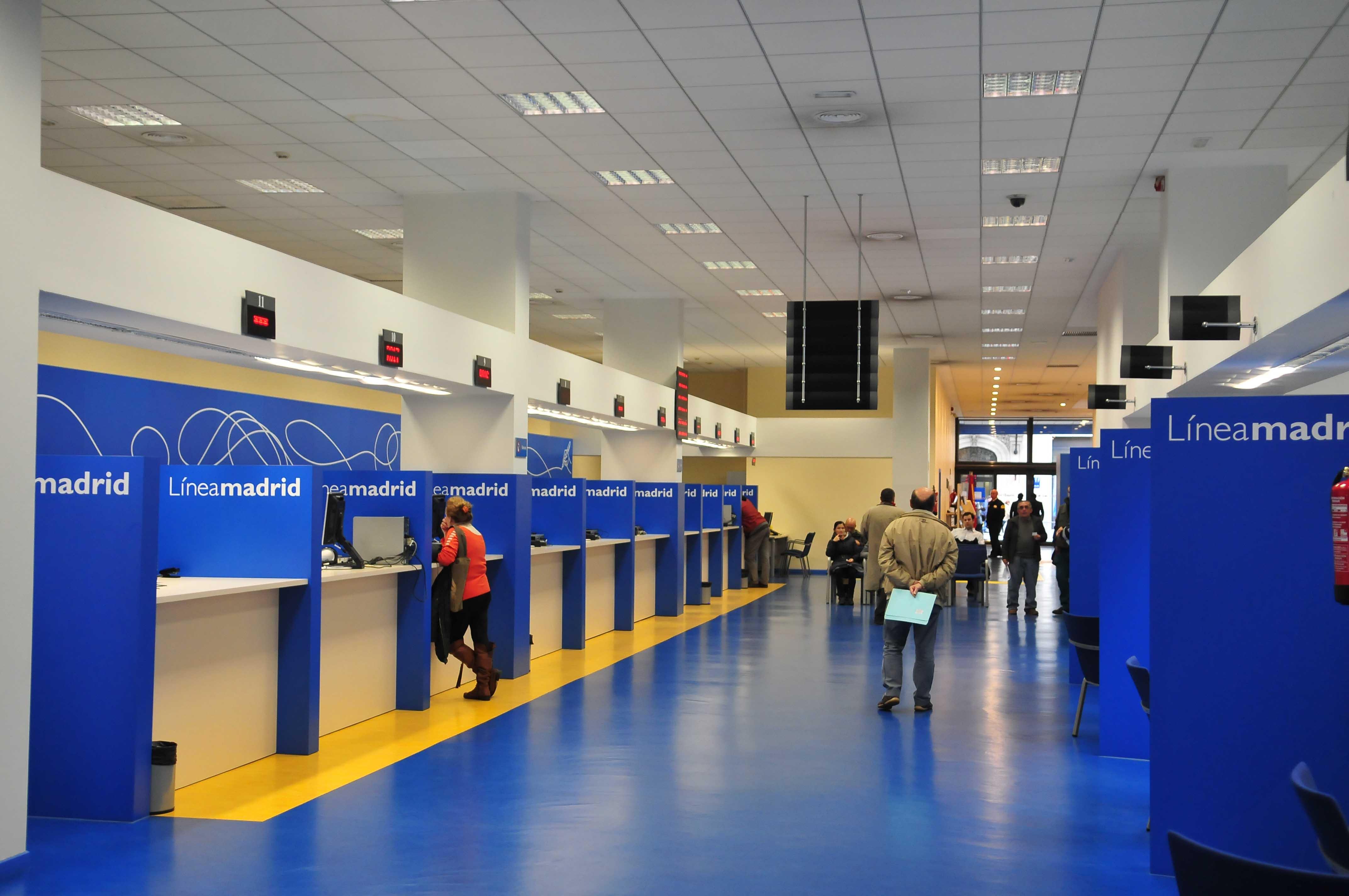 El tel fono 010 l nea madrid m s accesible ayuntamiento for Oficinas linea madrid