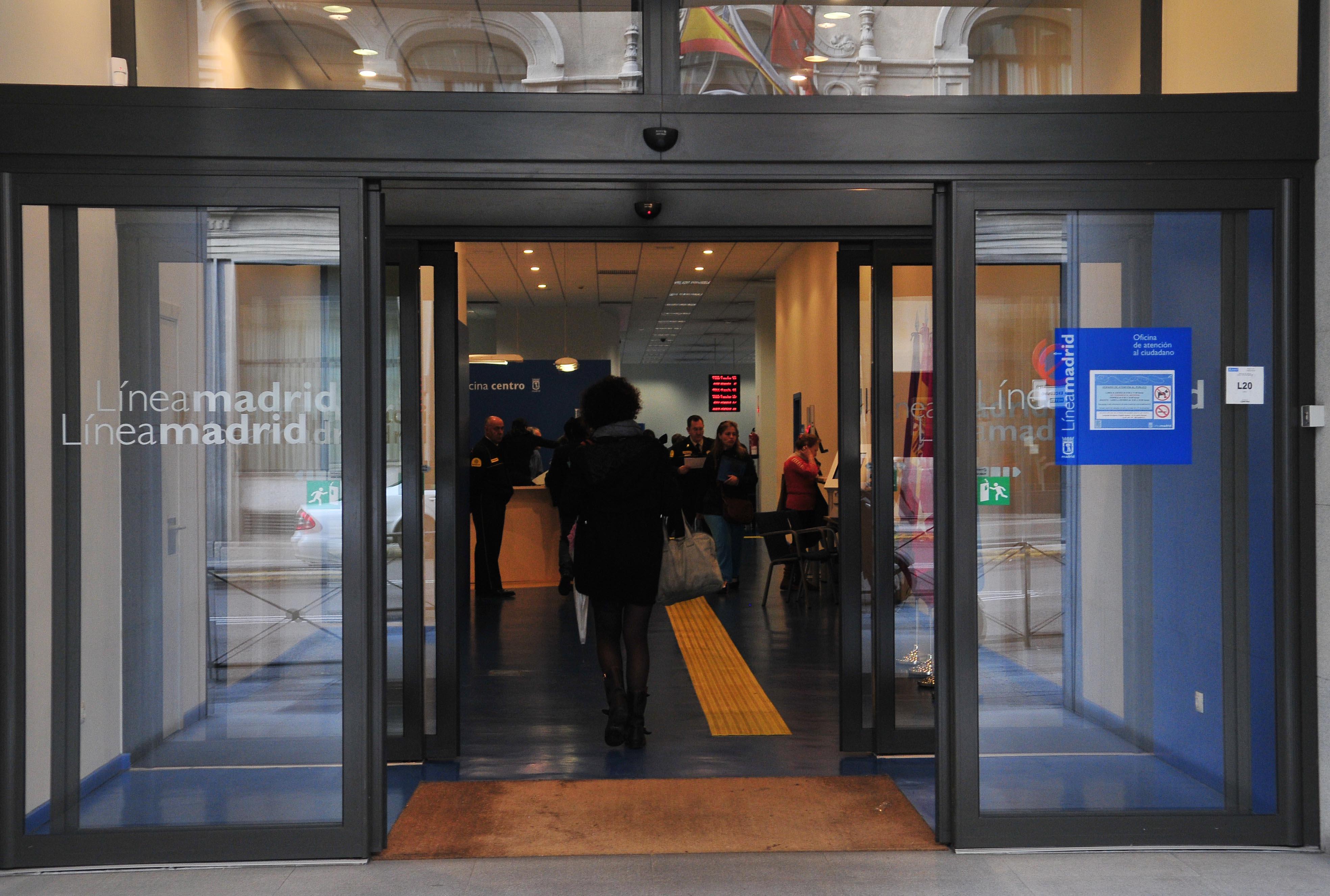 Xito en accesibilidad ayuntamiento de madrid for Oficinas linea madrid
