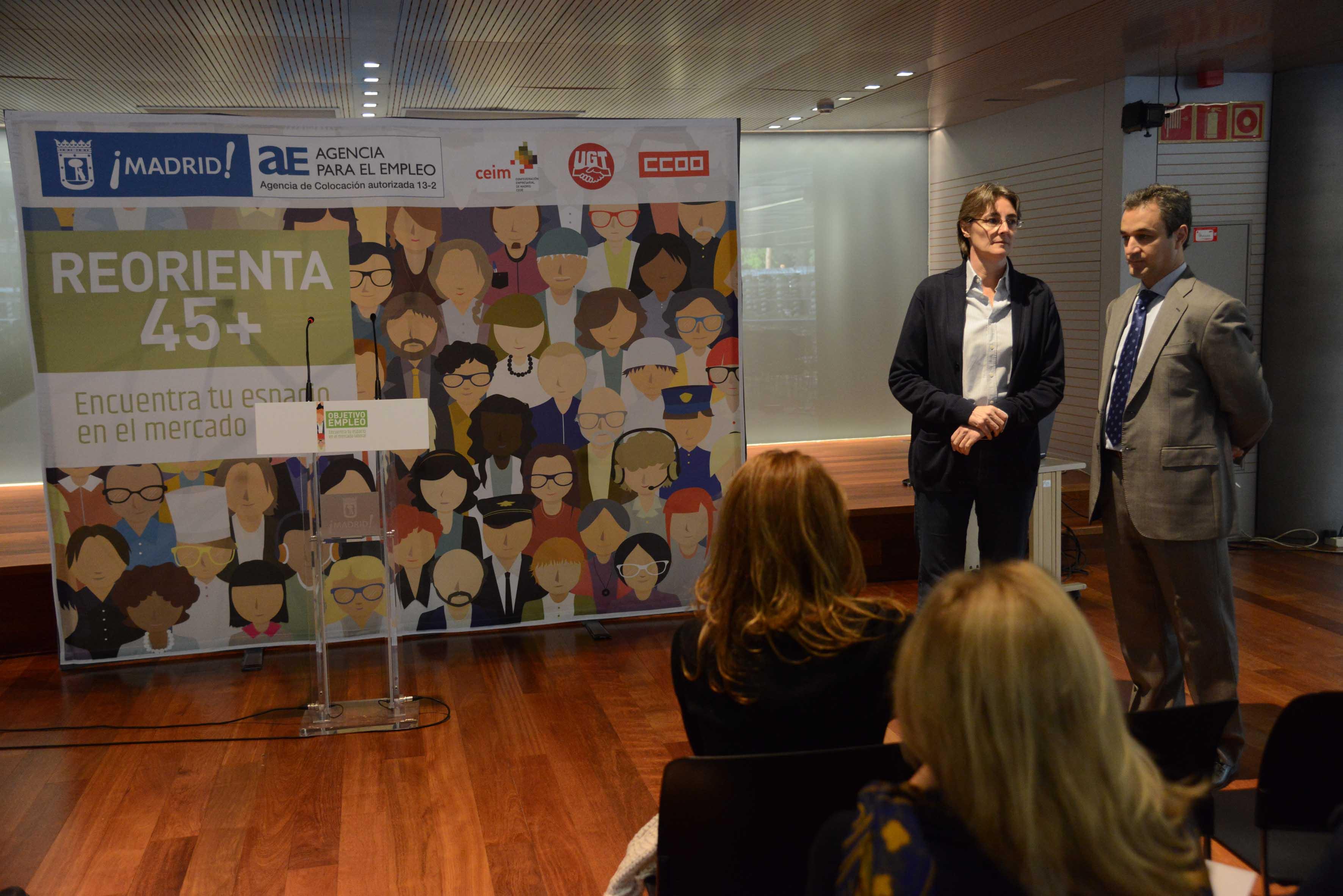 Reorienta 45 rompiendo barreras hacia el empleo for Portal empleo madrid