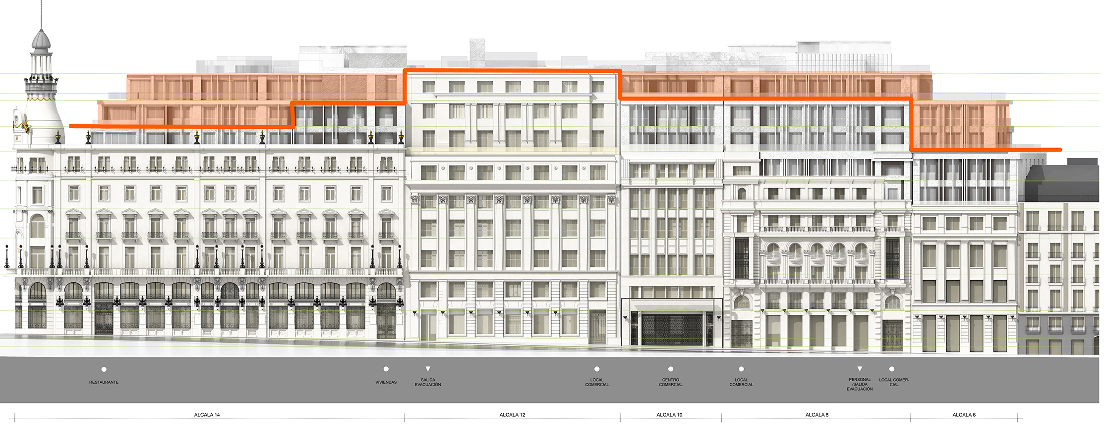 Acuerdo institucional sobre el complejo canalejas for Edificio de la comunidad de madrid