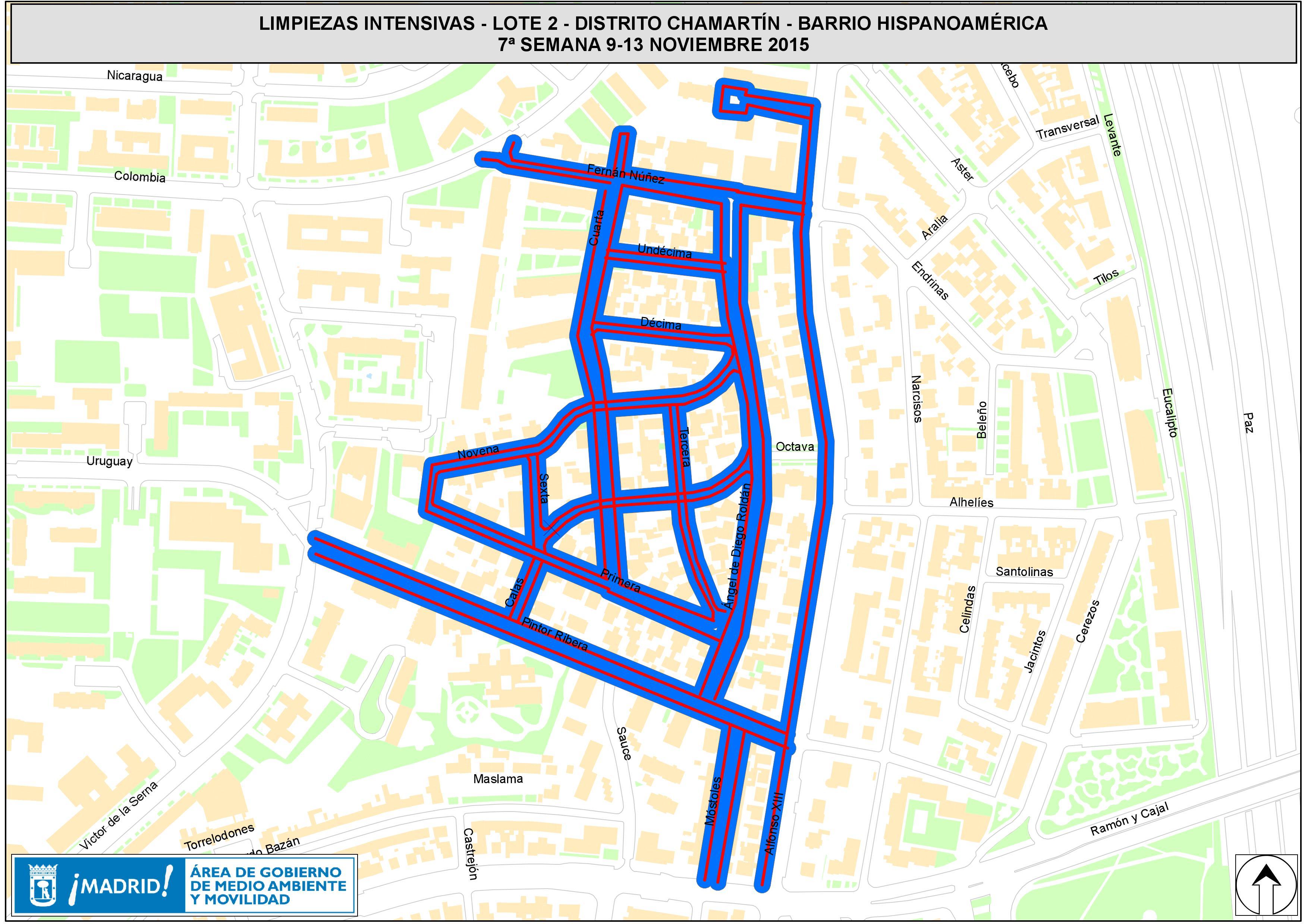 La próxima semana habrá limpiezas intensivas en 23 barrios de la ...