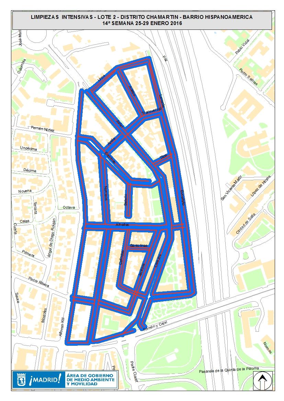 Limpiezas intensivas en 21 barrios - Ayuntamiento de Madrid