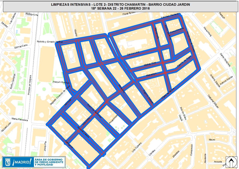 Limpiezas intensivas en 21 barrios ayuntamiento de madrid for Barrio ciudad jardin madrid