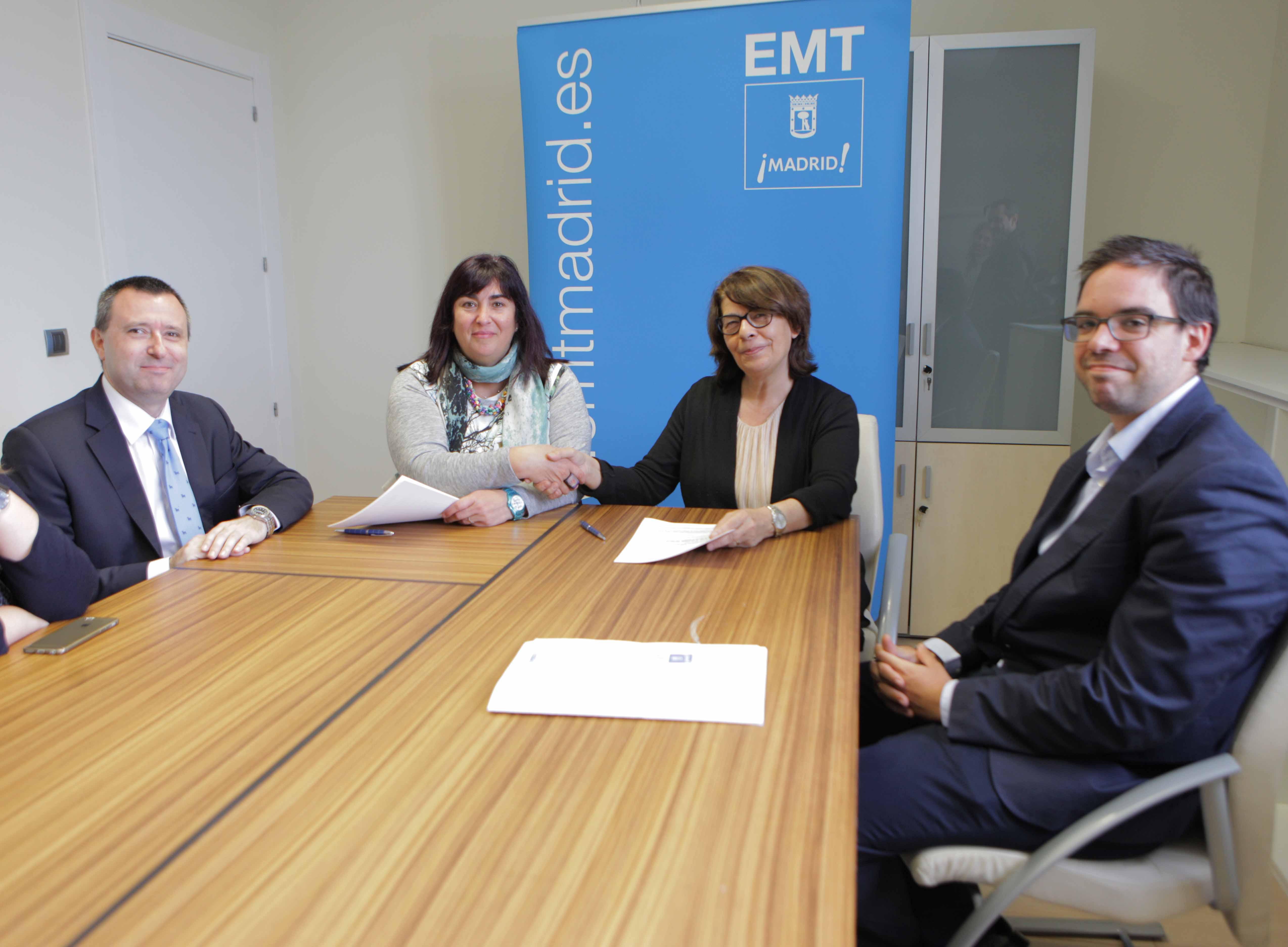 La emt y cermi comunidad de madrid renuevan su convenio de for Convenio oficinas y despachos comunidad de madrid