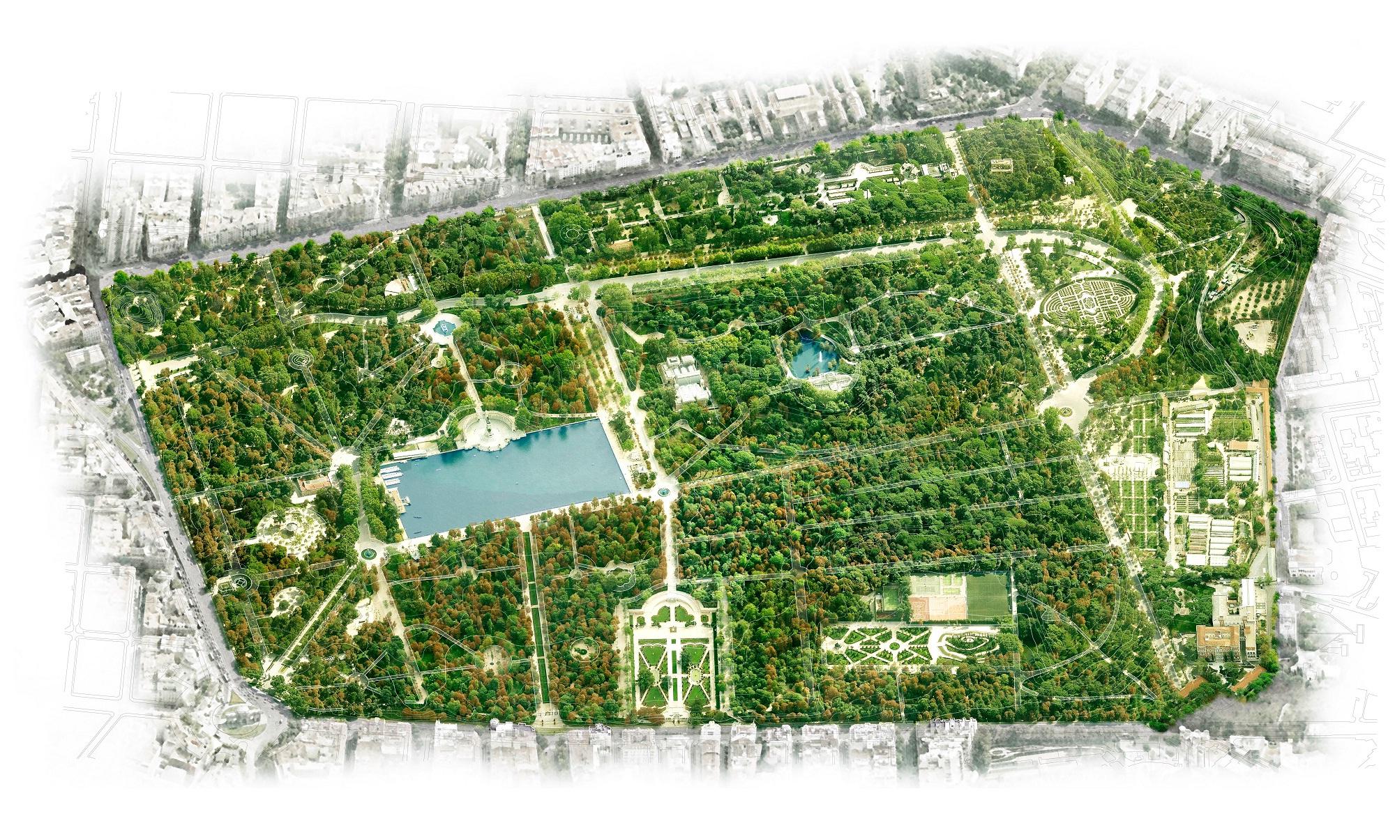 Plano Parque Del Retiro Mapa.Mapa Retiro Madrid Mapa