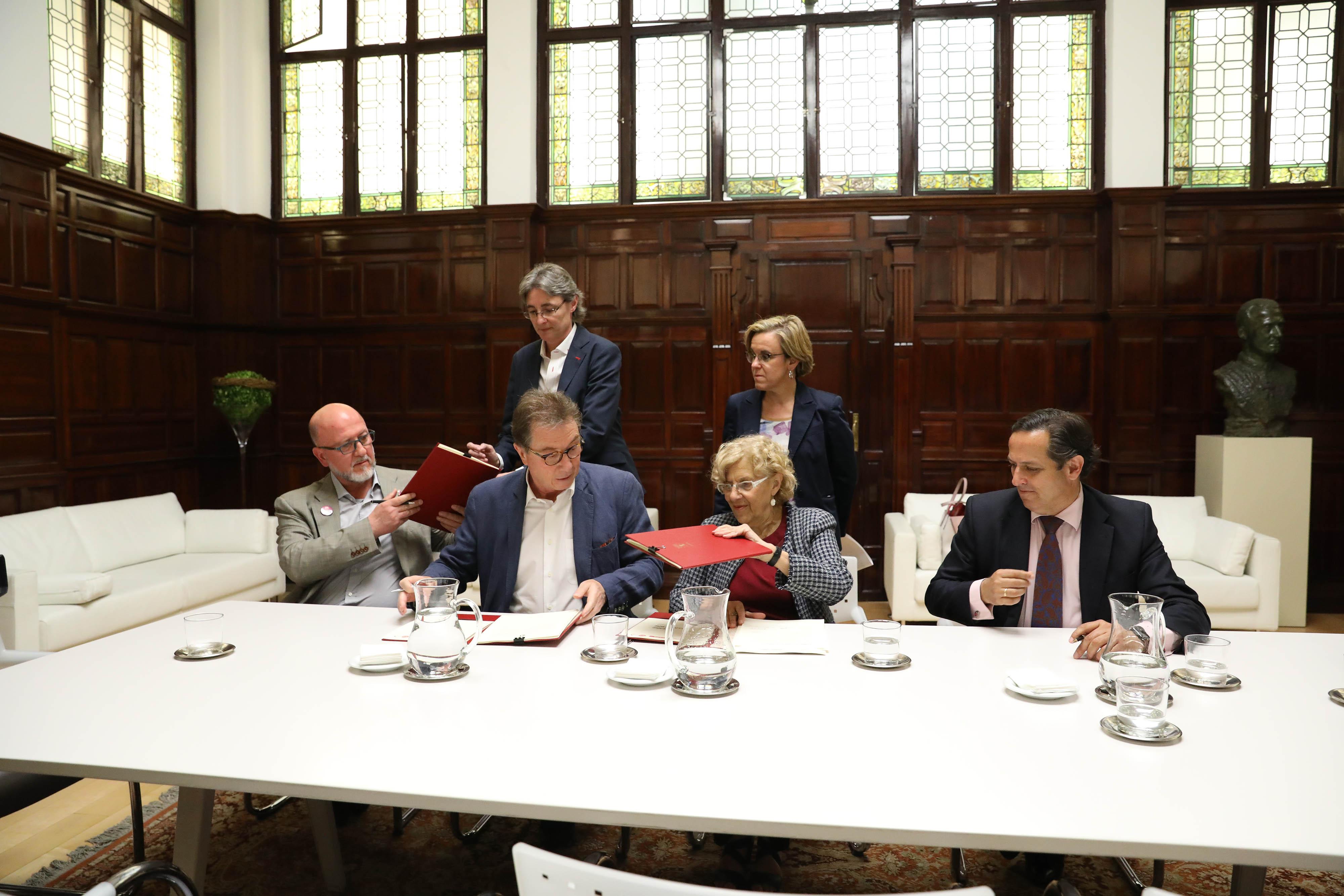 El ayuntamiento invertir casi 800 millones de euros en el for Portal empleo madrid