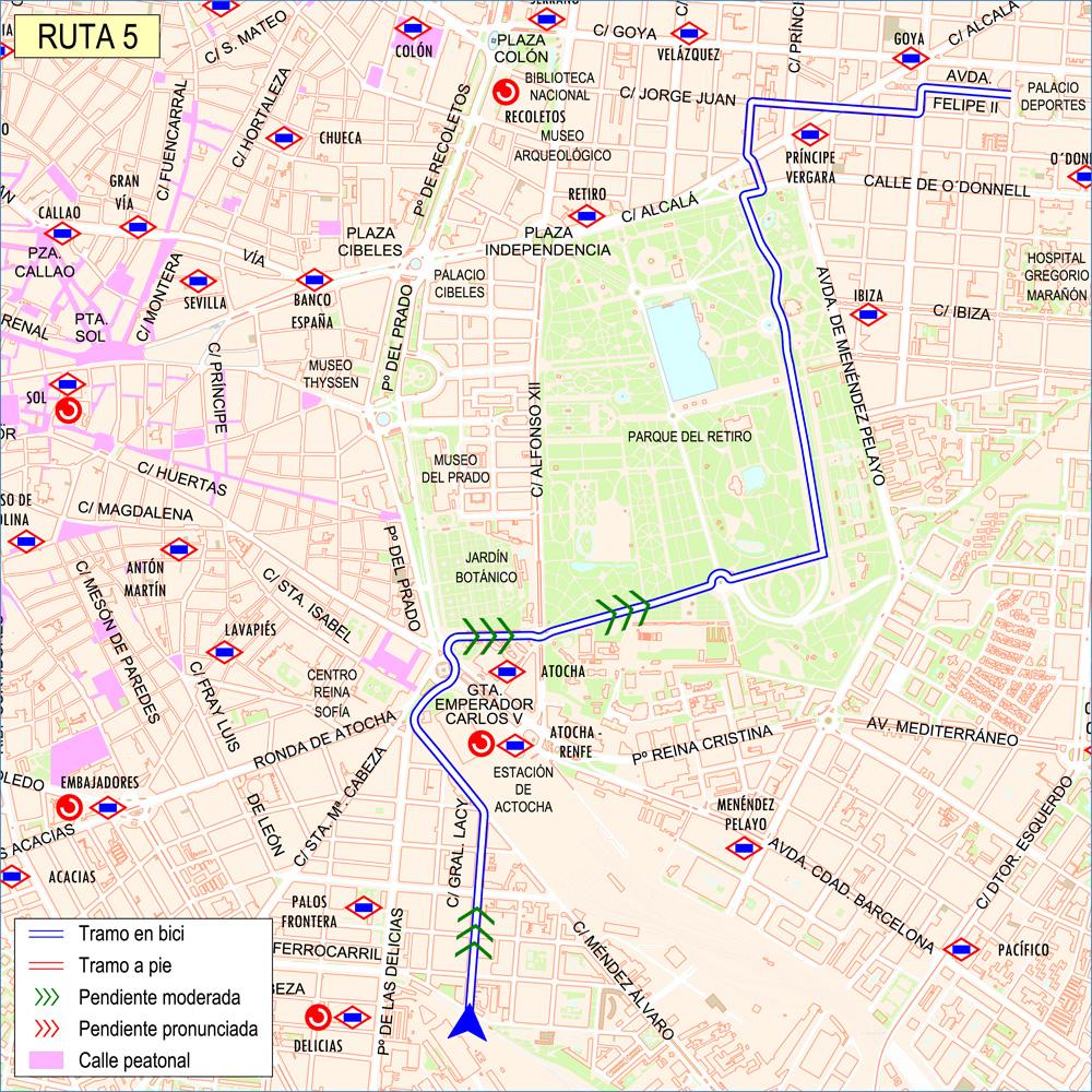 ruta 05 barrio de salamanca ayuntamiento de madrid