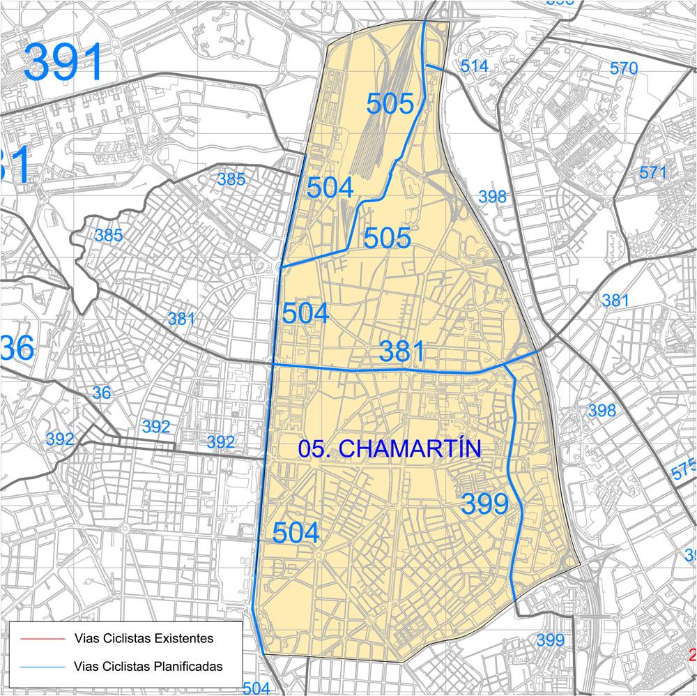 05. Distrito Municipal: Chamartín - Ayuntamiento de Madrid