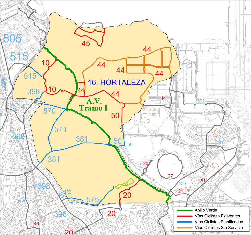 Barrio Hortaleza Madrid Mapa.16 Distrito Municipal Hortaleza Ayuntamiento De Madrid