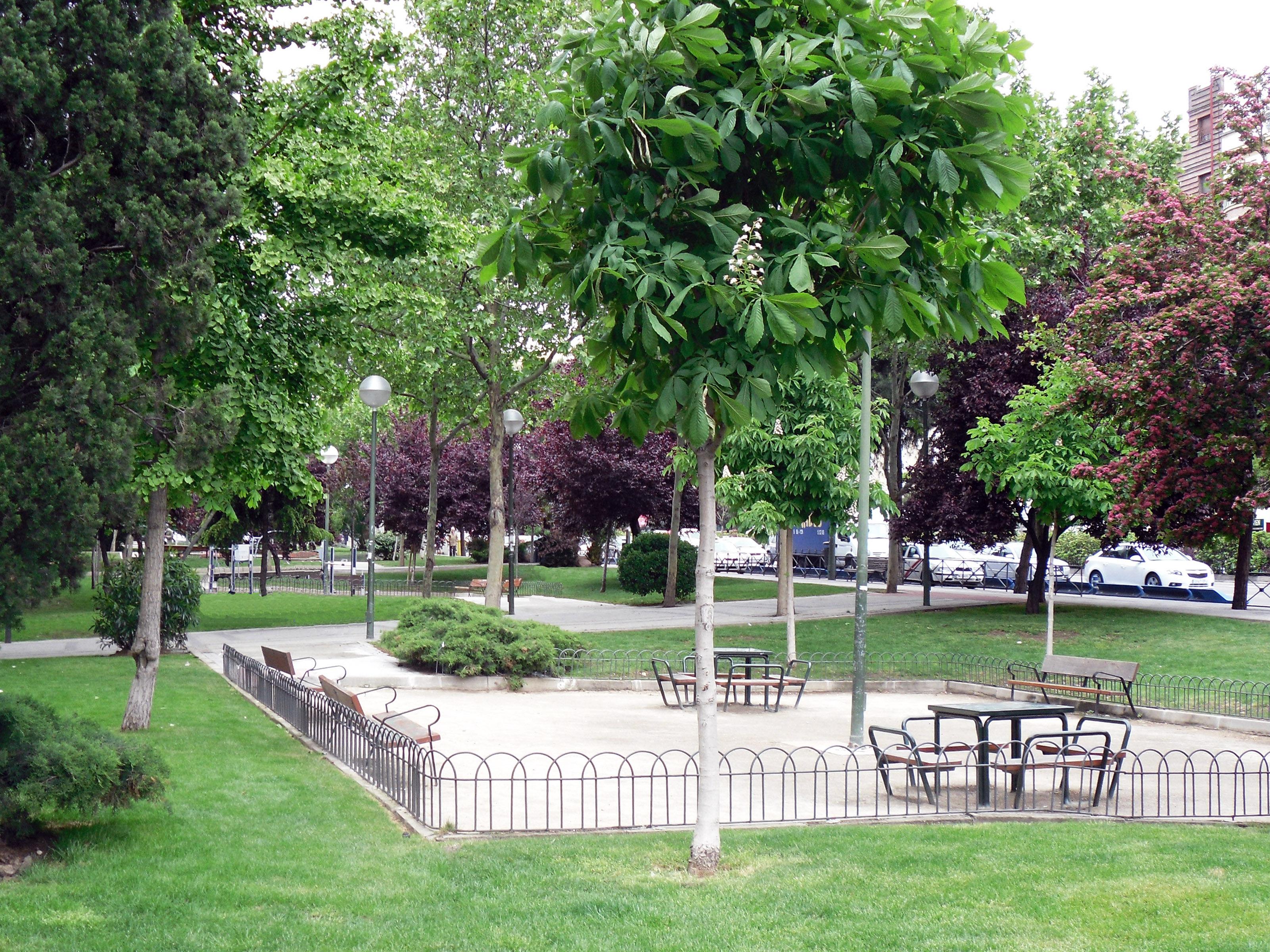 jardines de andr s saborit ayuntamiento de madrid